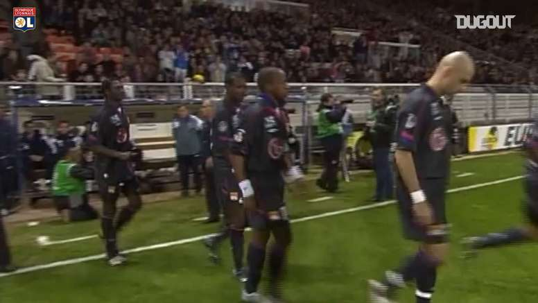 Lyon swept aside Auxerre back in 2005. DUGOUT