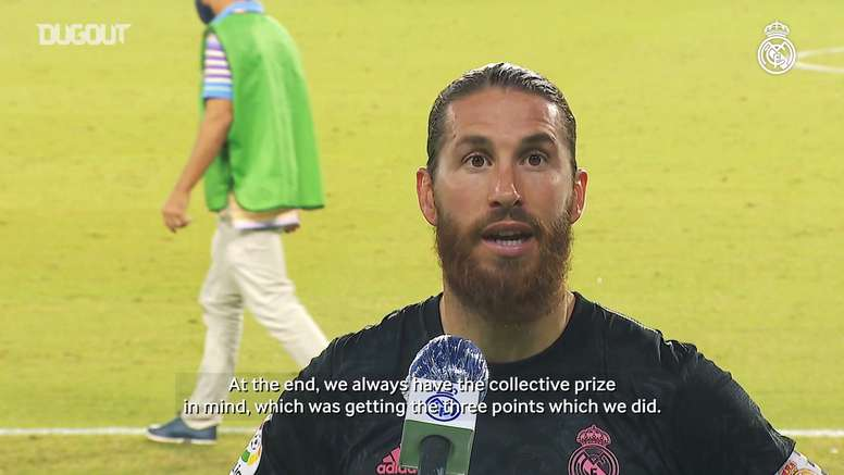 Ramos spoke about the win. DUGOUT