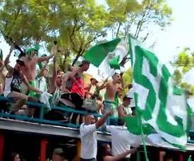 Atlético Nacional de Medellín tem uma torcida mais do que apaixonada. DUGOUT