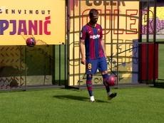 VIDEO : Les premiers pas de Pjanic au Camp Nou. Dugout