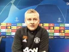 Solskjaer elogiou Bruno Fernandes, que tem 21 gols em 35 jogos pelo Manchester United. DUGOUT