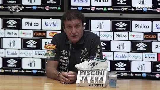Cuca fala sobre retorno ao Santos após se recuperar da Covid-19. DUGOUT