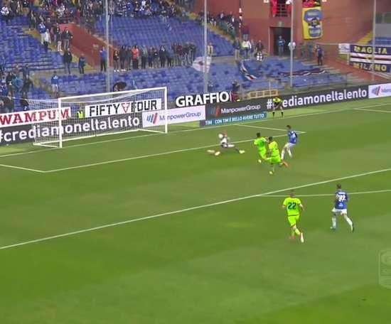 Le superbe but de Patrick Schick contre le FC Crotone. DUGOUT