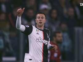 La Juventus si prepara al big match. Dugout
