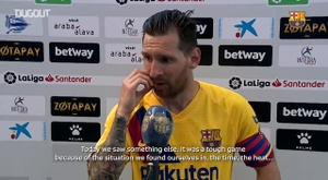 Messi says the top scorer award is not important. DUGOUT