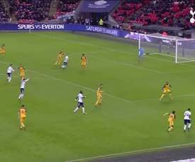 Le premier but de Serge Aurier avec Tottenham. DUGOUT