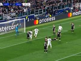 Ajax beat Juventus. DUGOUT