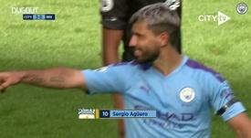 VIDÉO: Le superbe but de Sergio Aguero contre Brighton. Dugout