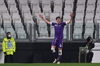 La Fiorentina quiere mantener a raya a Atleti y Juve: Vlahovic no se toca. AFP