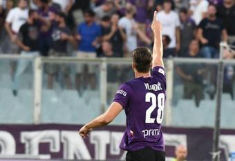 City e Atlético lutam por Vlahovic.ACFFiorentina