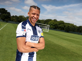 Gayle is a proven goalscorer in the Championship. Twitter/WBA
