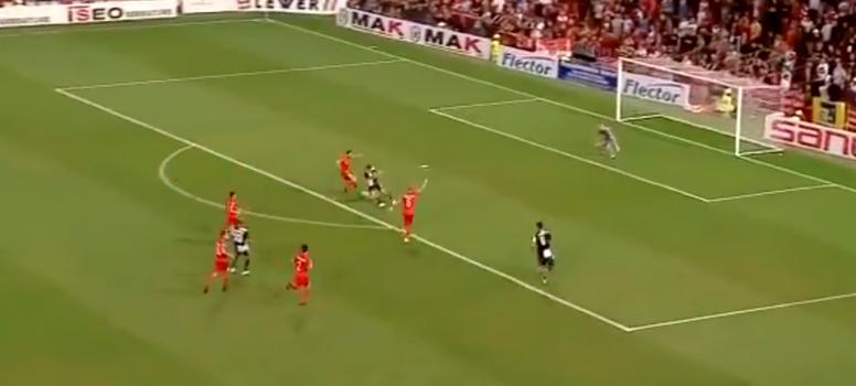 O gol de Dybala para ser visto em loop. Twitter/SkySport
