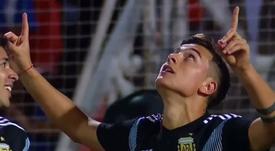 Dybala de retour avec l'Argentine. Capture