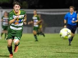 Nunca nadie había marcado tantos goles en un partido de Segunda Australiana. AFP