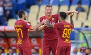 Três pontos para a Roma e vaga de Champions. Twitter/ASRoma