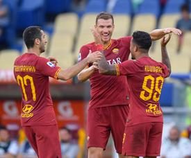 La Roma s'offre une première victoire face à Sassuolo. Twitter/ASRoma