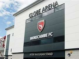 Easter nightmare at the Globe Arena when traffic prevented spectators from attending the match. MorecambeFC