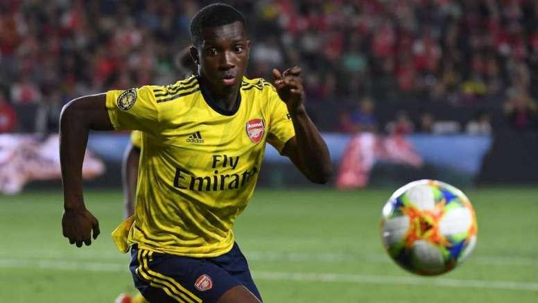 Trois clubs anglais sous le charme d'un jeune gunner. AFP