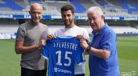 Auxerre enregistre le prêt de Sylvestre. Twitter/AJA