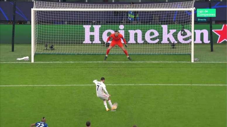 Hazard porta in vantaggio il Real Madrid. MovistarLigadeCampeones.