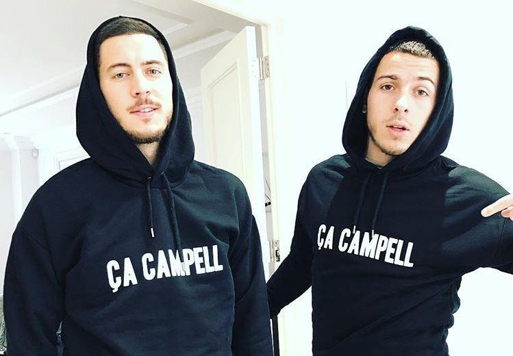 Fermato il fratello di Hazard. Instagram/KylianHazard