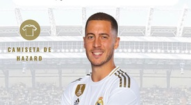 Hazard portera le numéro 7 cette année. RealMadrid
