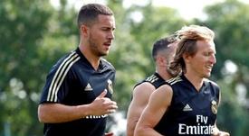 El Madrid espera contar con Modric. EFE