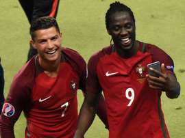 Eder claims Ronaldo told him he would score the winner. Twitter