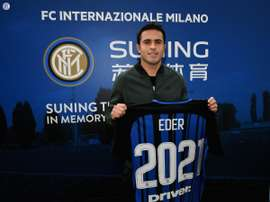 Eder will be at Inter Milan until 2021. Twitter/Inter