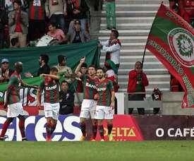 El delantero firmó nueve tantos en 15 encuentros. CSMarítimo