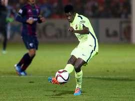 Edgar Ié, del Barcelona, es el nuevo fichaje del Villarreal. FCBarcelona