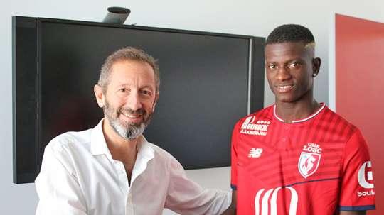 Jogador deixa o Belenenses para rumar à Ligue 1. LOSC