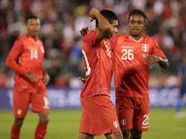 Perú solo pudo empatar con Estados Unidos. SeleccionPeru