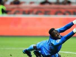Edouard Mendy ha terminado cinco encuentros con la portería a cero. AFP
