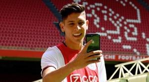 Edson Álvarez a répondu à De Boer. Twitter/AFCAjax