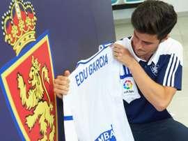 Edu García está cansado del mal rendimiento de su equipo. RealZaragoza