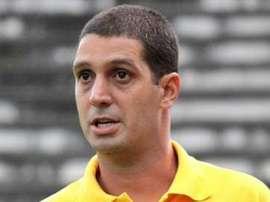 Eduardo Allax, como nuevo técnico de Boavista de Brasil. Twitter