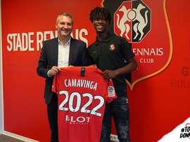 Il talentino del Rennes Camavinga. Rennes