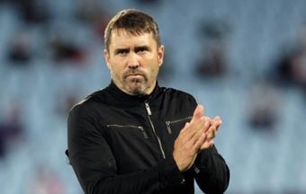 Eduardo Coudet habló tras la victoria del Celta ante el Granada (1-0). EFE