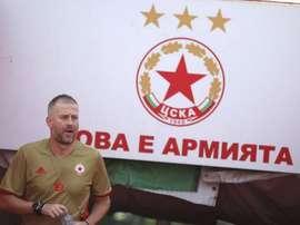 Edward Iordanescu, destituido del CSK Sofia. CSKASofia