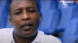 Edwin Congo fue puesto en libertad tras prestar declaración. Captura/CaracolTV