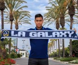 El mexicano jugará en la MLS. LAGalaxy