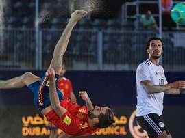 Egipto remontó a España. SeFútbol