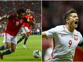 Polônia e Egito também já estão na Copa do Mundo. BeSoccer