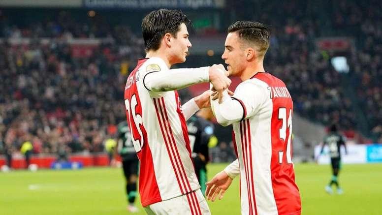 El Ajax se recupera. Twitter/AFCAjax