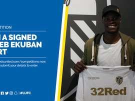 Ekuban ya es del Leeds United. LUFC