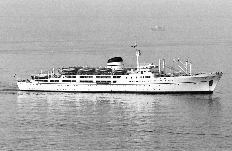 El 'Caralis', un barco que solía realizar la ruta Génova-Cerdeña. GenoaCFC