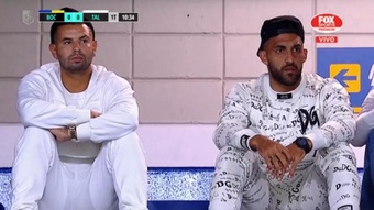 Cardona y Wanchope se quedaron fuera de la lista de convocados de Boca juniors. EFE