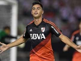 Le joueur de River Plate pourrait quitter le club pour 15 millions. EFE