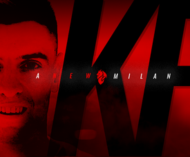 Piatek já é jogador do AC Milan. ACMilan